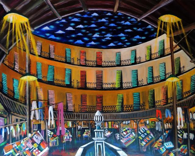 Obra de arte en venta Manuel Carmona: pintura mercado valencia