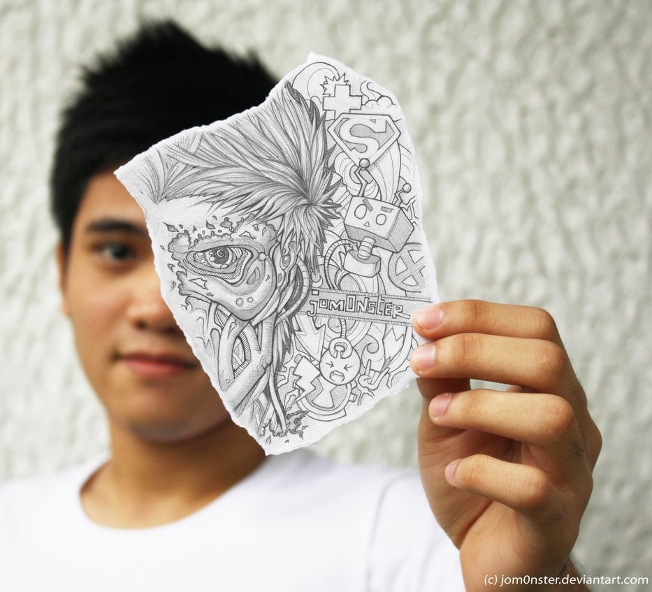 Ben Heine Art and Music Blog: Pencil Vs Camera Popular in ...
