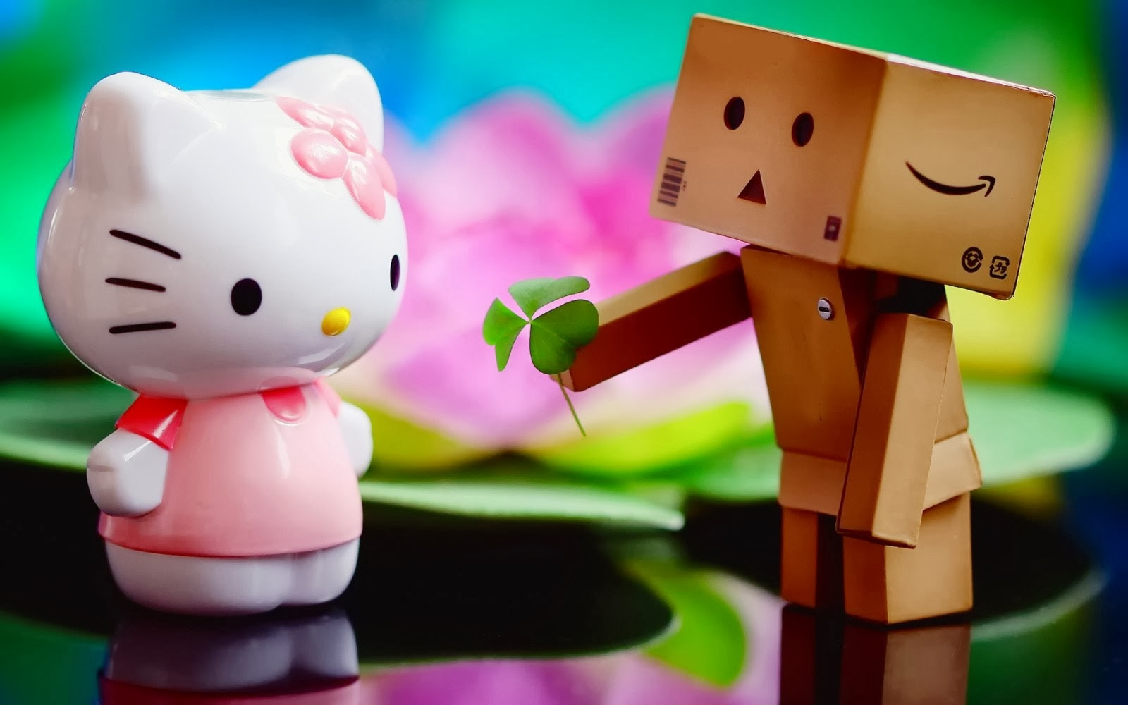 valentines day wallpaper hd of cute toys proposal