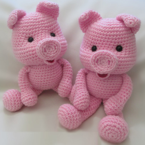 Crochet Along Pig - Free Pattern