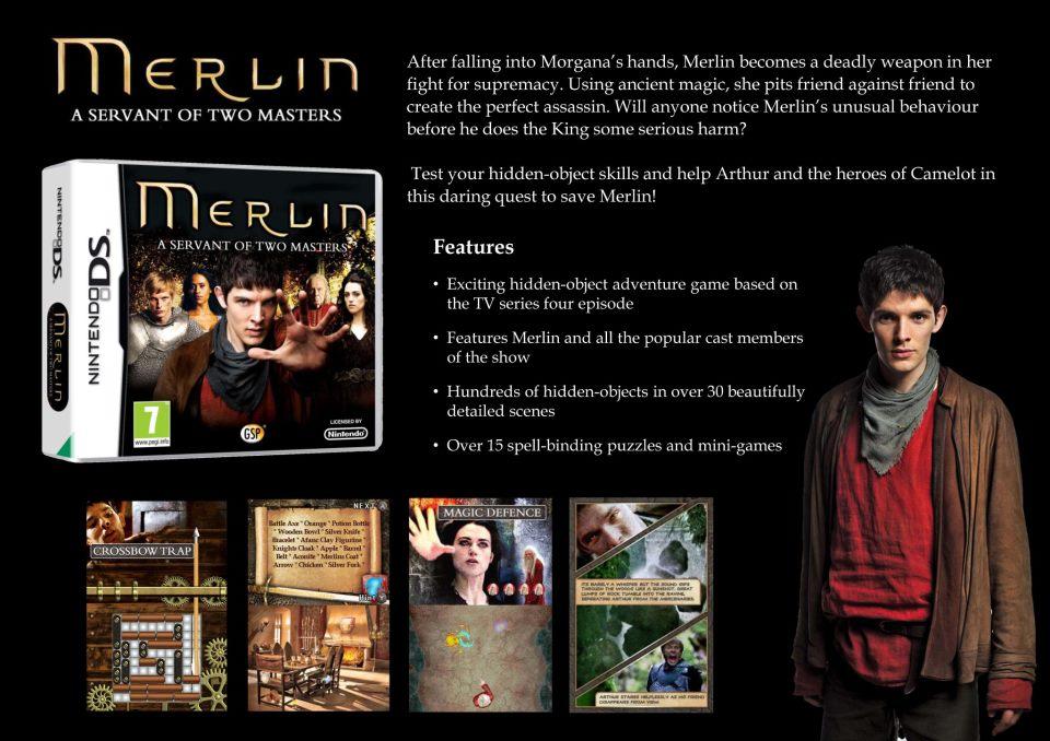 Merlin Spiele