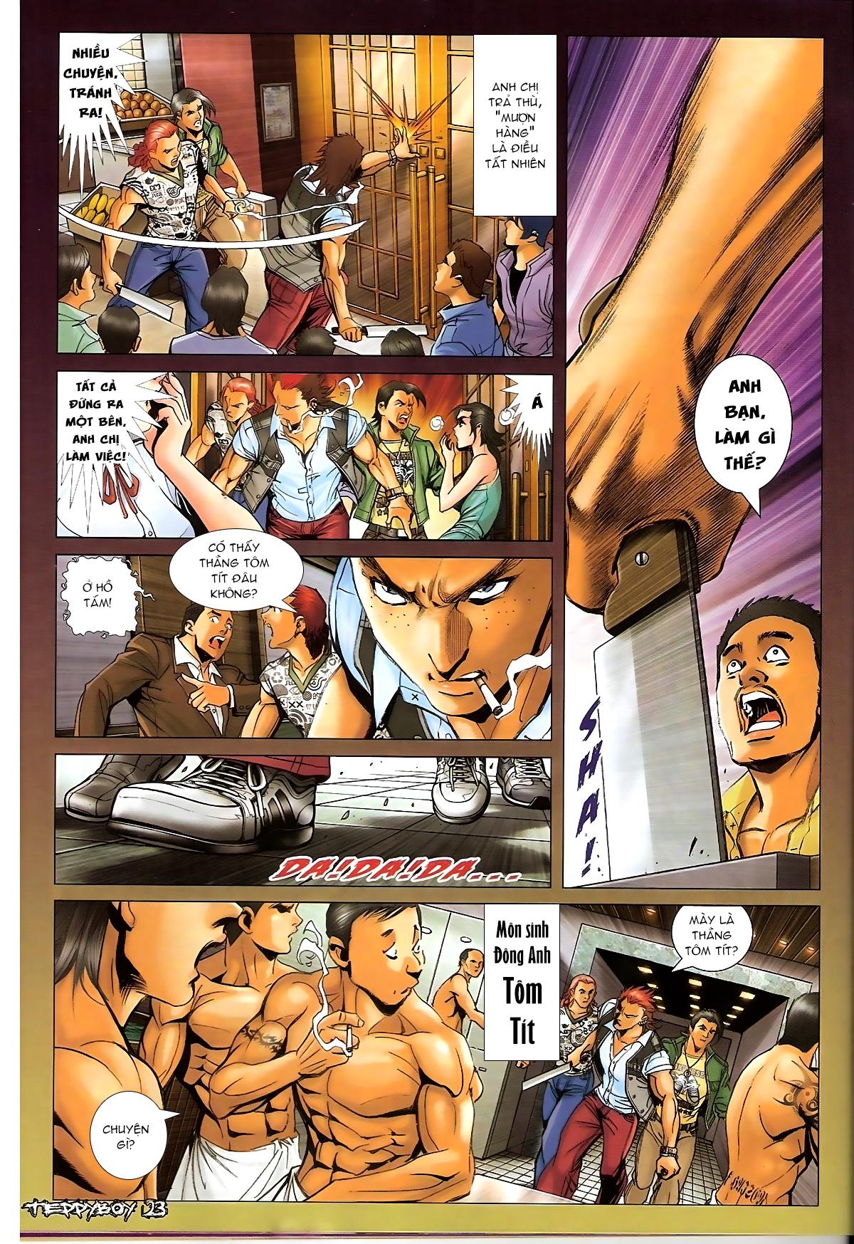 Người Trong Giang Hồ - Chapter 1319: Con trai Sinh Phiên - Pic 20