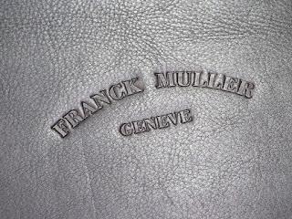 FRANCK MULLERの大容量腕時計・収納バッグ型ケースを買い取りました