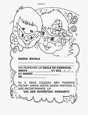 Textos e atividades sobre o carnaval