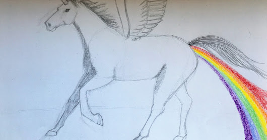 Reddit - Unicorn with wings