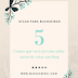 5 coisas que você precisa saber antes de criar um blog