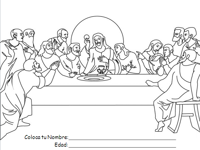 Calendario Escolar 2020 16 Cantabria.Ultima Cena Pintura Y Dibujos Ana De Austria Religion