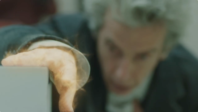 Peter Capaldi 12th Doctor regeneration