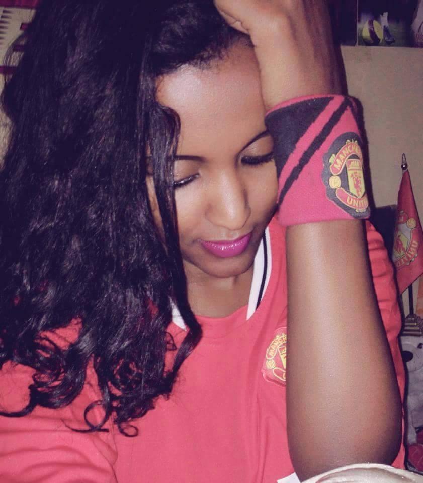 Manchester United Girls Hilina Adane From Ethiopia I Miss Alex Ferguson Every Day