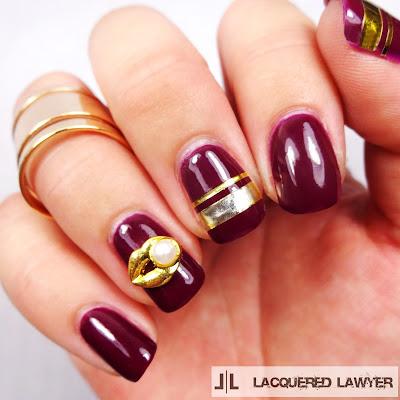 Passionate Plum Nails