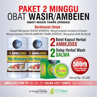 4 paket obat bab berdarah