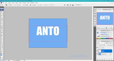 cara membuat flat design dengan photoshop