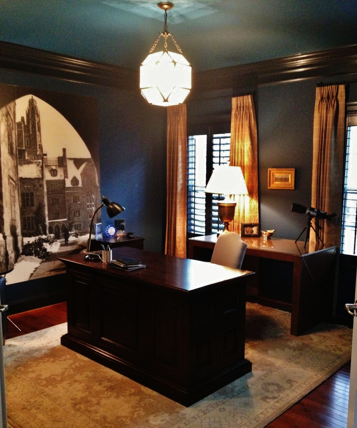11 Cool Home Office Ideas For Men: A Man's Surprise Office: Before & After