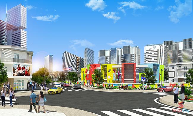 Dự án đất nền Singa City Quận 9