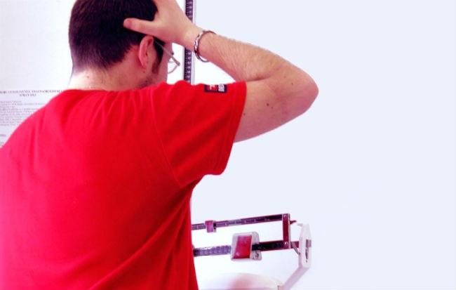 calcola il bmi usando la percentuale di grasso corporeon