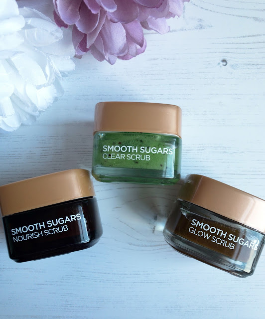 NEW In Skincare - L'Oreal Paris Smooth Sugars Scrubs