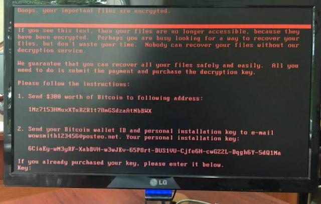 Novo Ransomware começa a se espalhar pelo mundo