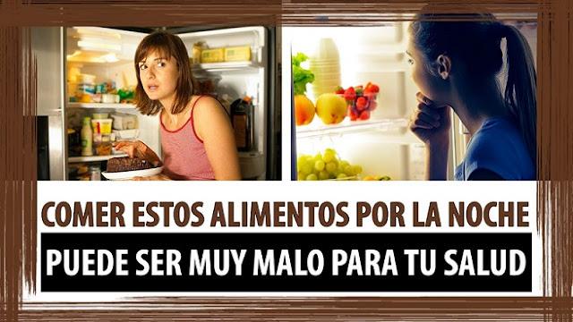 Conspiraciones y noticias actuales alimentos que no debes consumir por la noche - Alimentos que no engordan por la noche ...