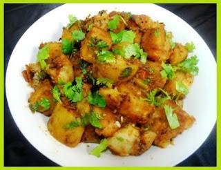 Potato Pumpkin Hindi Recipe