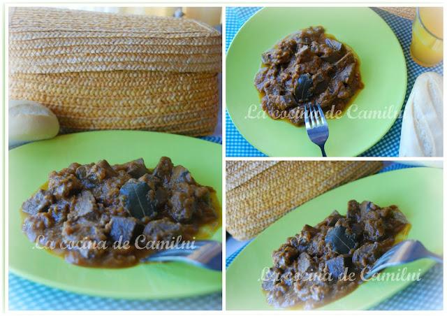 Lengua de ternera estofada (La cocina de Camilni)