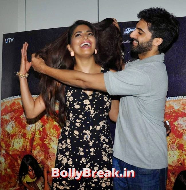 Parvathy Omanakuttan and Akshay Oberoi, Parvathy Omanakuttan Pics from Press Meet of Pizza Movie