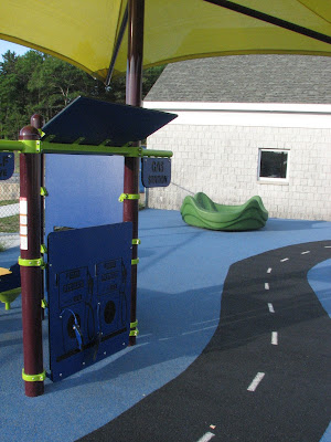 Coombs Elementary Gas Station Play Area