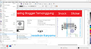 pengaturan posisi dan persiapan eksekusi print merge yo-sinau.com