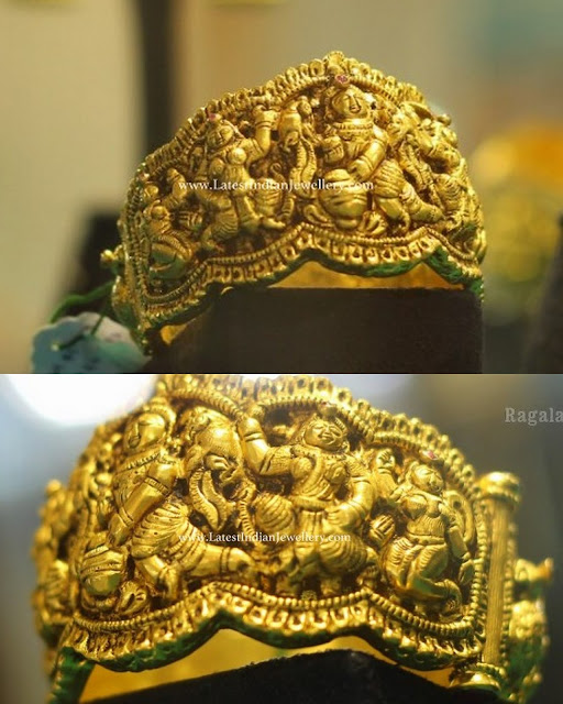 Heavy Nakkas Gold Kada