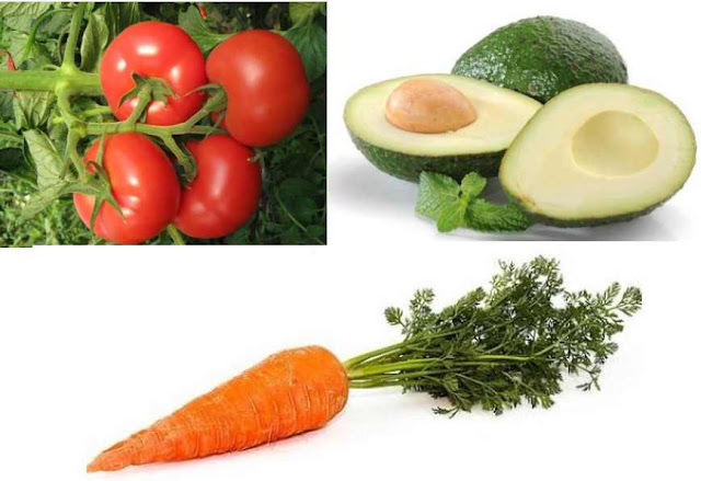 Healthy Food for the Glowing Skin