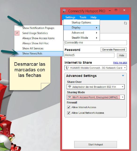 Connectify Hotspot PRO Versión 8.0.0.30686