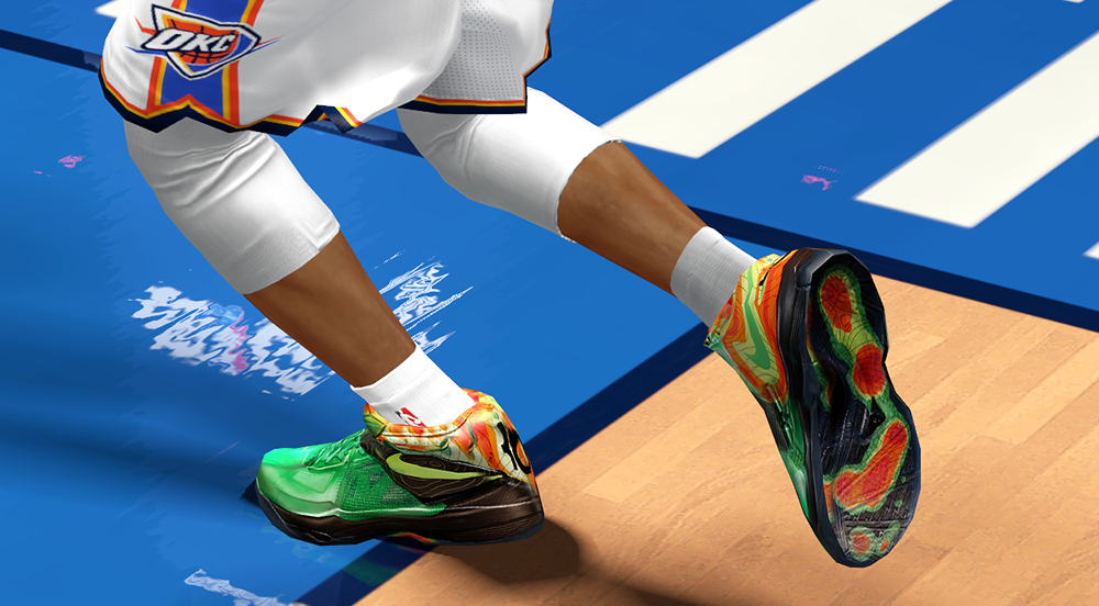 KD IV Weather Shoes | NBA 2K14 Mods