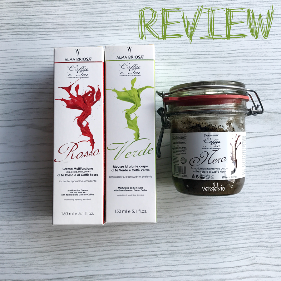 Review Alma Briosa Coffee 39 N Tea Crema Mousse E Scrub