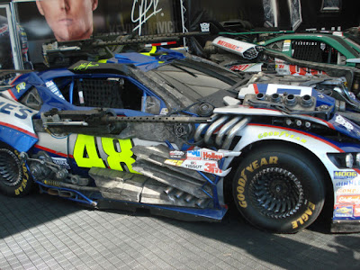 Transformers Nascar 12 - Mira estás nuevas imagenes de Transformers en el Daytona 500!