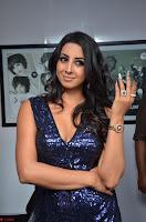Sanjana looks happy in sparkling short Deep neck Purple Gown ~  Exclusive 33.JPG