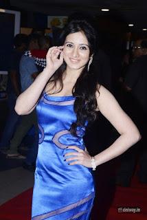Harshika Poonacha Stills at Devi Sri Prasad Live Music and Dance Premiere Show