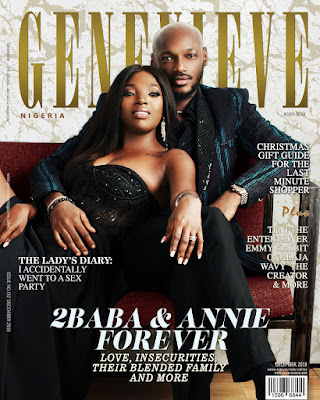 Tuface and Annie Idibia are coverstars for Genevieve Magazine latest issue