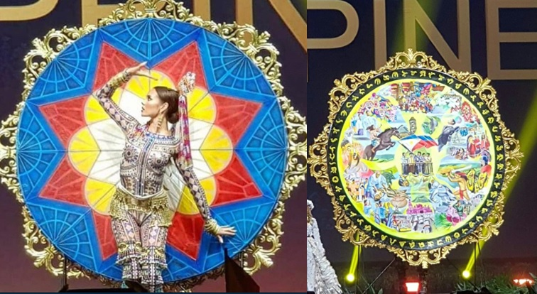 IN PHOTOS: Catriona Gray wows with Miss Universe national costume