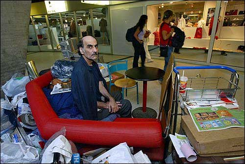 'The Terminal' Iranian refugee Mehran Karimi Nasseri - The man who lived on the airport