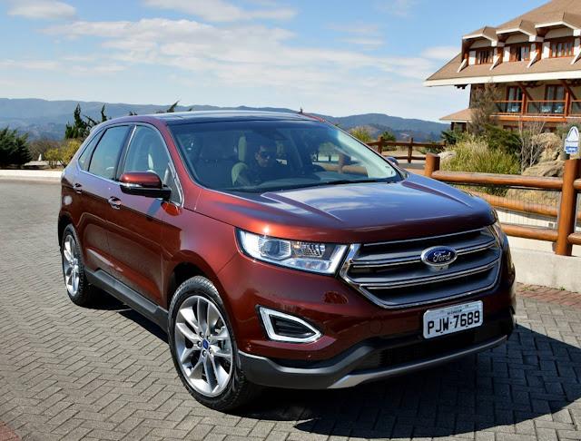 novo Ford Edge 2017