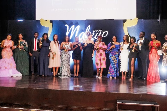 Photos: Zynnell Zuh, Sandra Don Arthur, Others Win At 2nd Edition of Ghana Makeup Awards