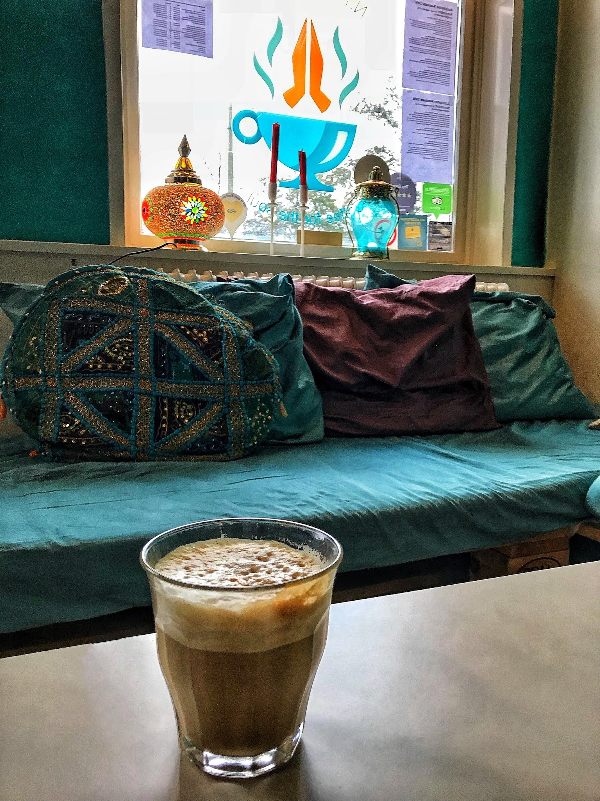 Coffee for the soul at Namaste Cafe Den Haag