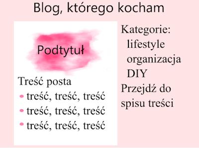 róż, różowy, ładny blog, kategorie, spis treście, ładne grafiki, mniejsze zdjęcia, wyjustowany tekst, szeryfowe czcionki, podtytuły na grafikach, jasne, pastelowe kolory, formatowanie