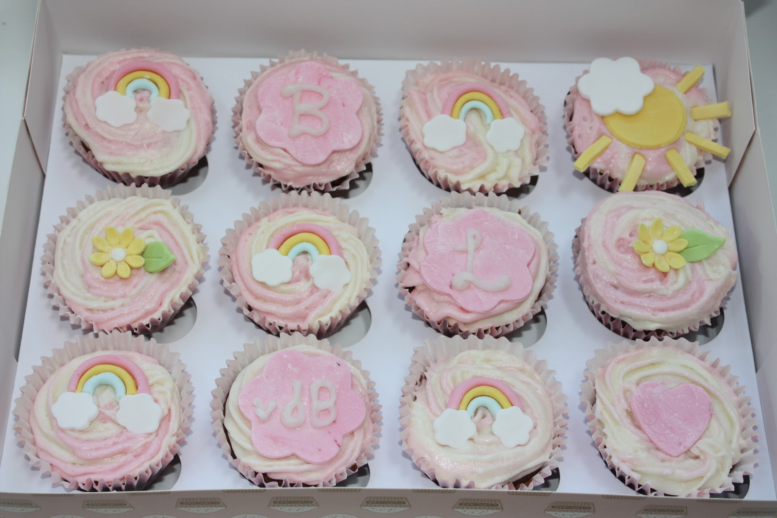 Angie S Cakes New Baby Girl Cupcakes