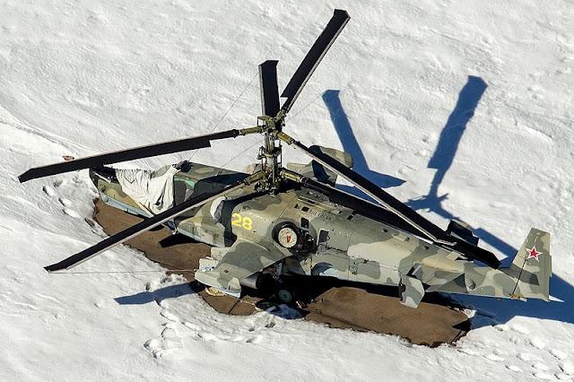 Gambar 11. Foto Helikopter Tempur Kamov Ka-50 Black Shark
