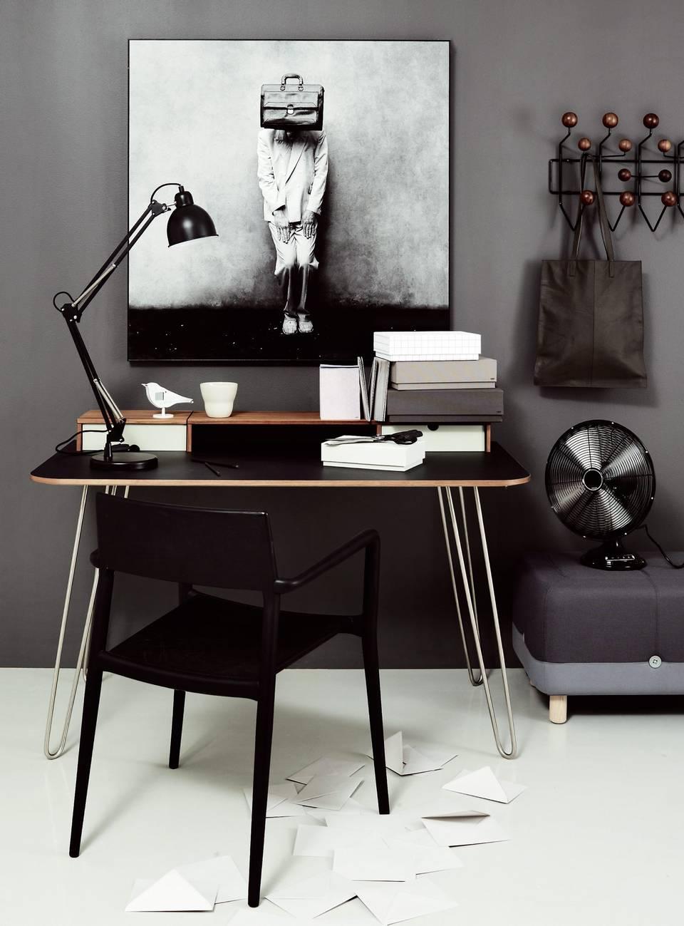 рабочее место, домашний офис, дизайн, скандинавский