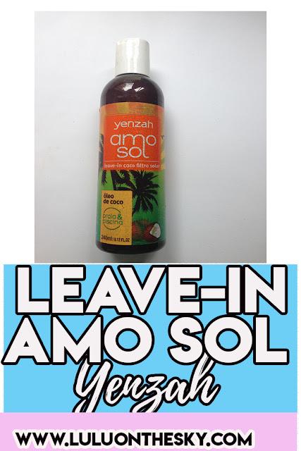 Leave-in Amo Sol Yenzah