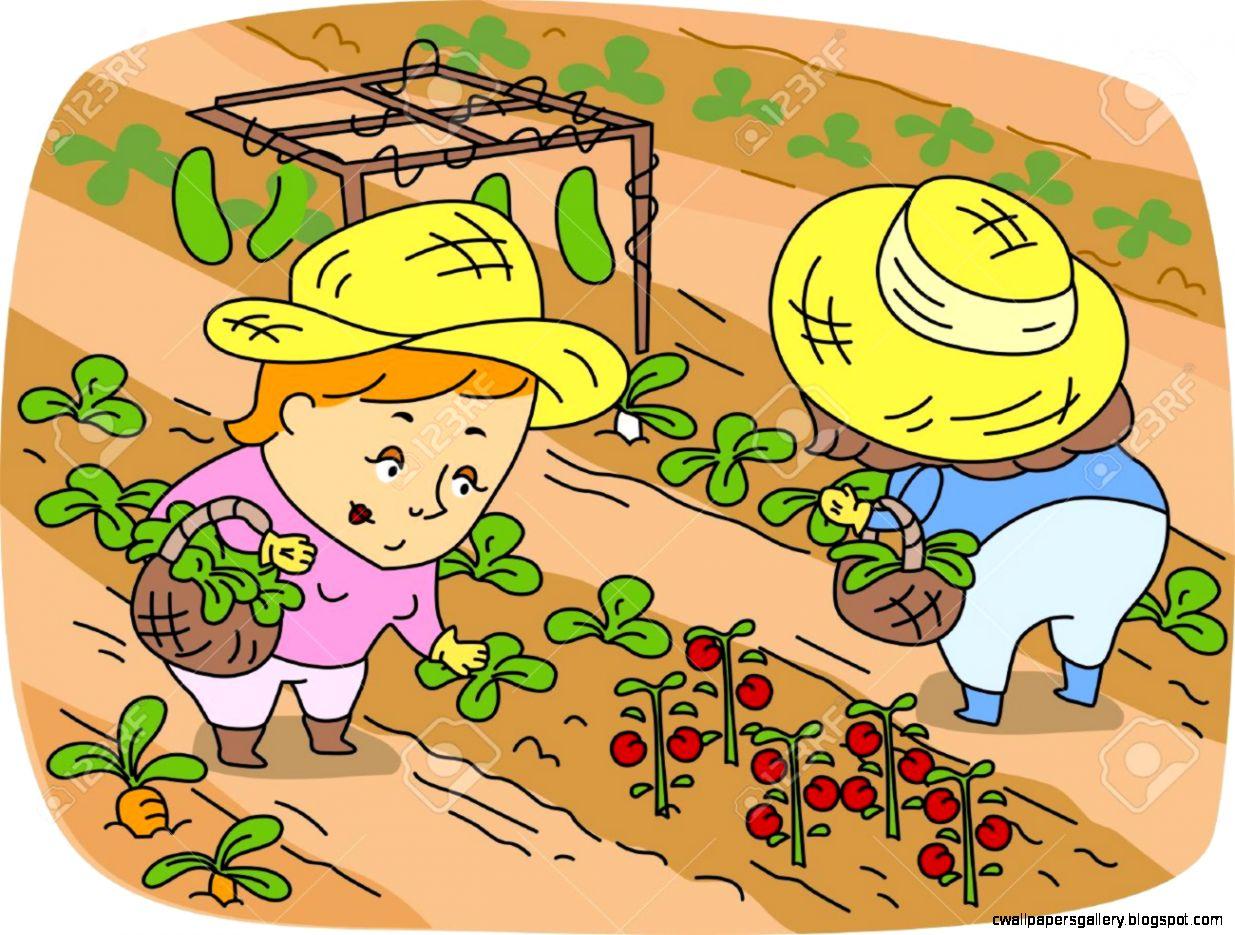 Picking Clip Art Vegetables