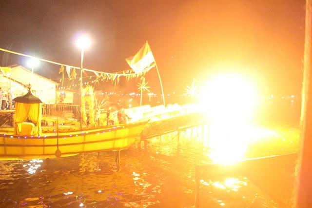 Festival Meriam Karbit,Penyemarak Malam Takbiran di Pontianak