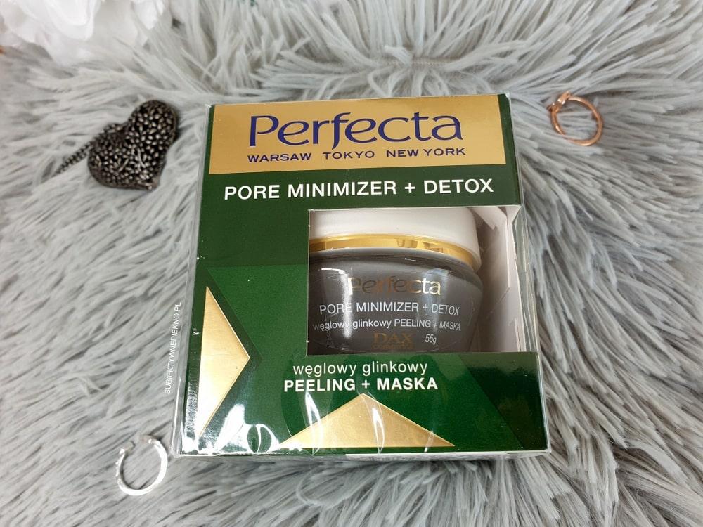 Perfecta węglowy peeling maska Pore Minimizer i Detox
