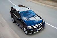 2012 all new Mercedes GL-class luxury suv offroad official press picture